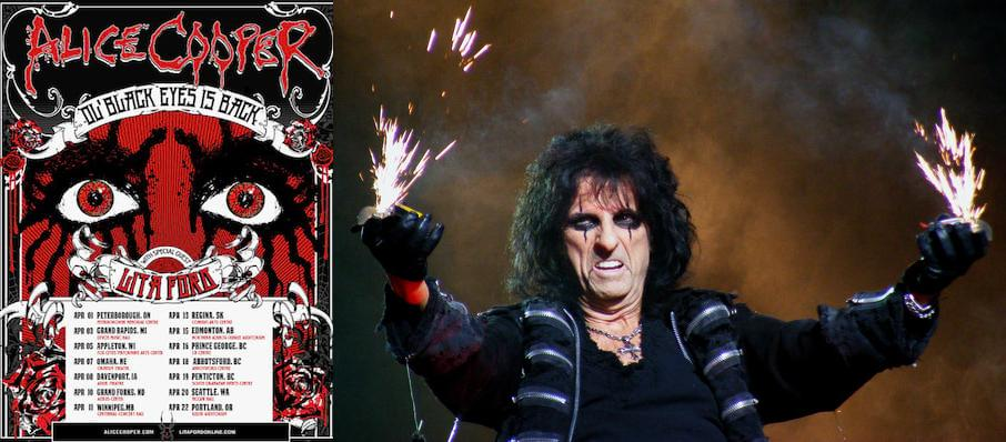 Alice Cooper at Adler Theatre